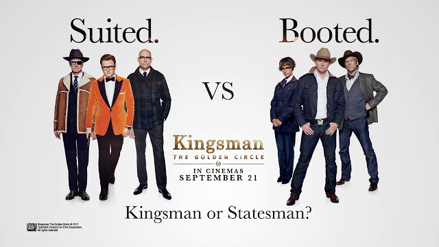 Kingsman the golden circle sudah tayang!