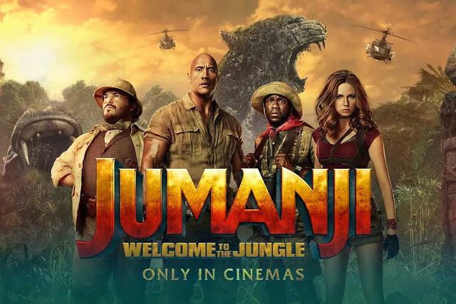 Jumanji welcome to the jungle movie rilis!
