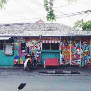 Cuma lewat di depan Sea Circus Bali