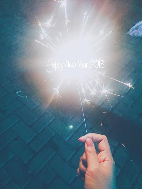 Happy new year 2018 dan resolusi baru