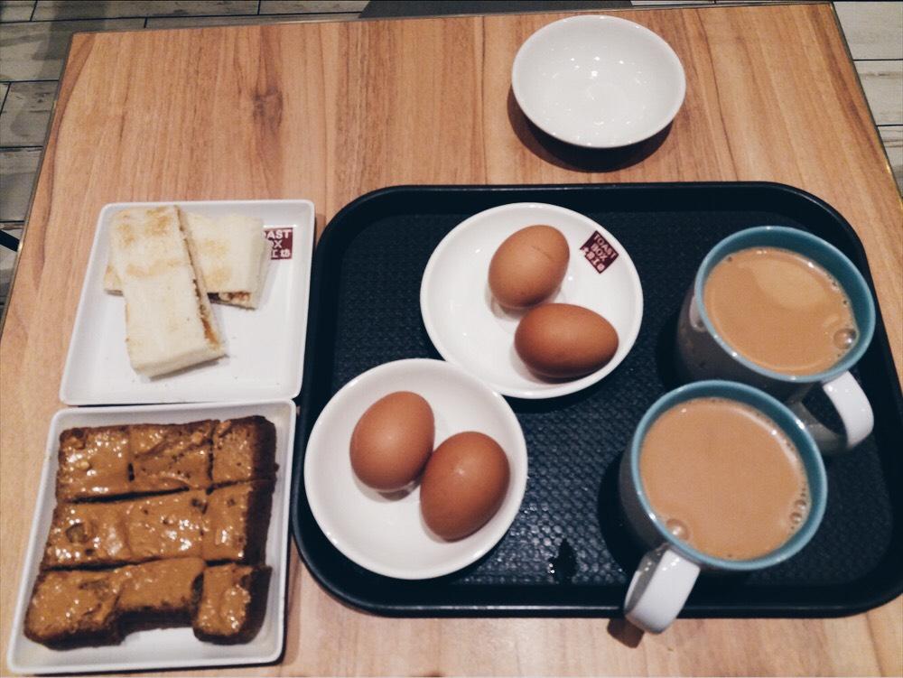 Rekomendasi sarapan pagi di toast box singapore