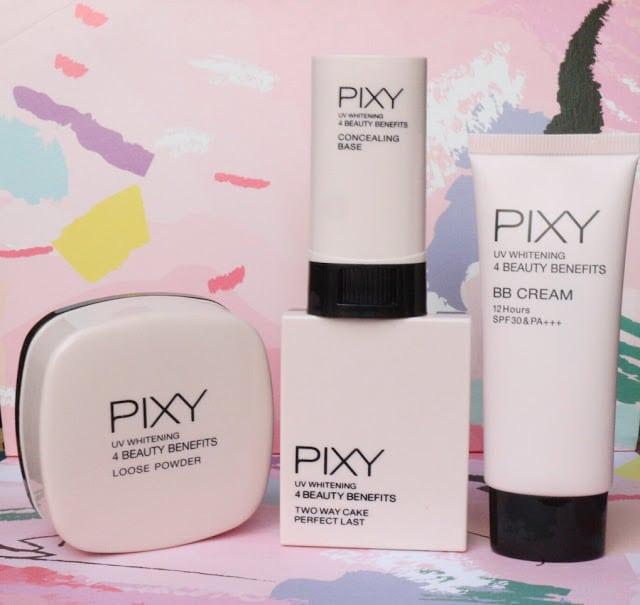 Makeup pixy 4 beauty benefit dengan tampilan baru
