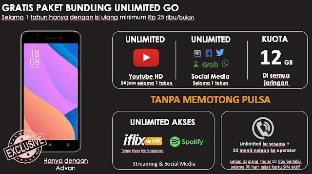 paket unlimited advan