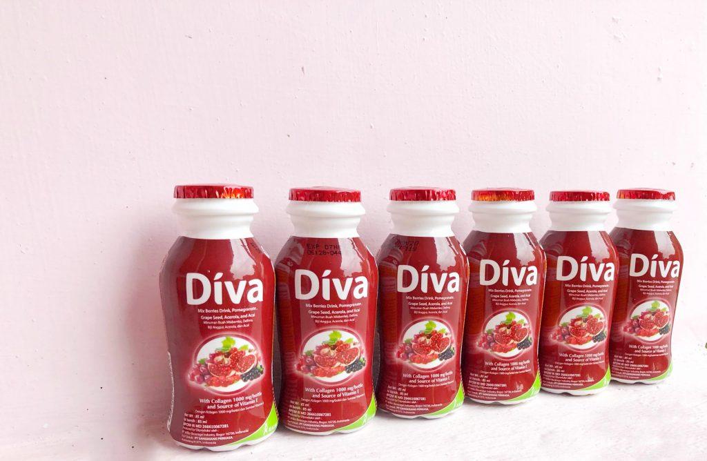 diva beauty drink mencegah penuaan dini lya amalia